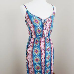Pink Rose Maxi Dress Size Small